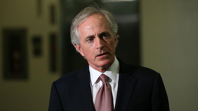 U.S. Sen. Bob Corker (R-TN)  (AFP Photo / Alex Wong)