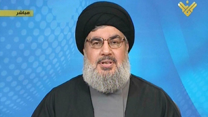 Hassan Nasrallah.(AFP Photo / Manar TV)