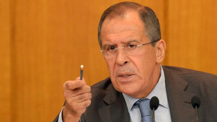 Russian Foreign Minister Sergey Lavrov (RIA Novosti/Sergey Pyatakov)
