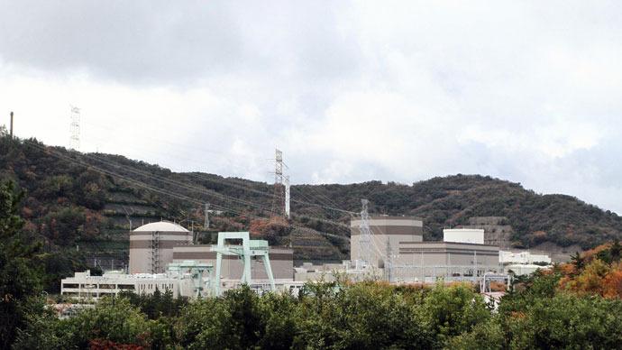 Japan Atomic Power Company's Tsuruga nuclear power plant in Fukui prefecture, western Japan.(AFP Photo / Jiji Press Japan Out)