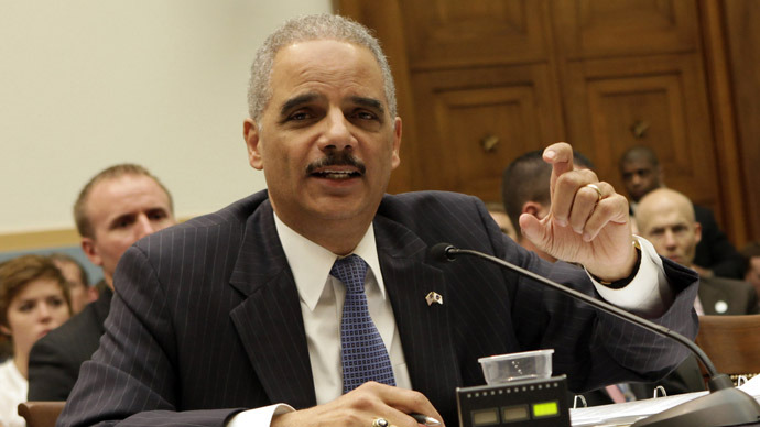 U.S. Attorney General Eric Holder (Reuters/Yuri Gripas)
