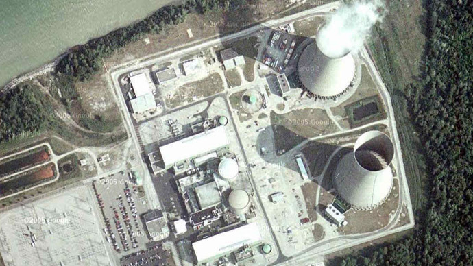 The Perry nuclear power plant (Google maps)