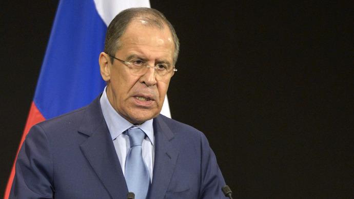 Russian Foreign Minister Sergei Lavrov. (RIA Novosti / Eduard Pesov)