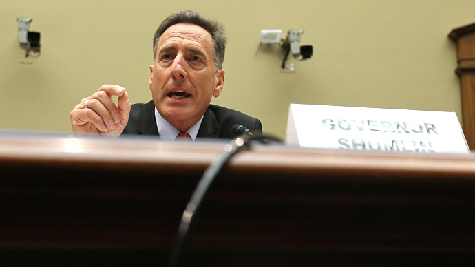 Vermont Gov. Peter Shumlin. (AFP Photo / Alex Wong)