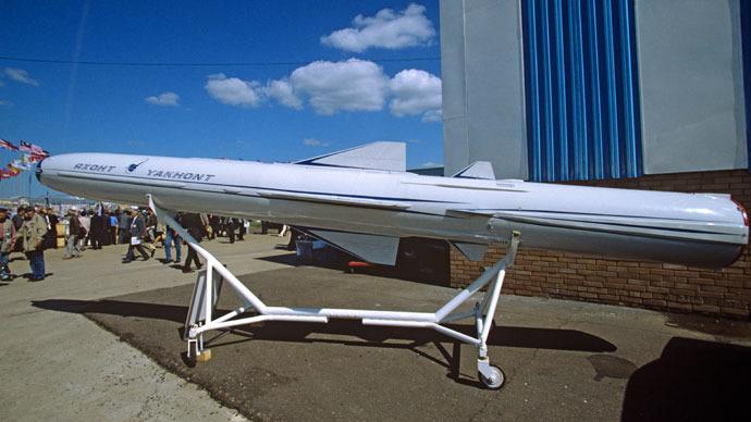 Yakhont missile. (RIA Novosti / Vladimir Fedorenko)