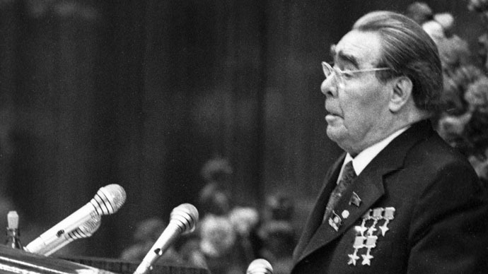 General Secretary of the Soviet Communist Party and Chairman of the U.S.S.R. Supreme Soviet Leonid Brezhnev.(RIA Novosti / Dmitryi Donskoy)