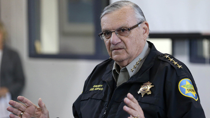 Joe Arpaio (Reuters / Darryl Webb)