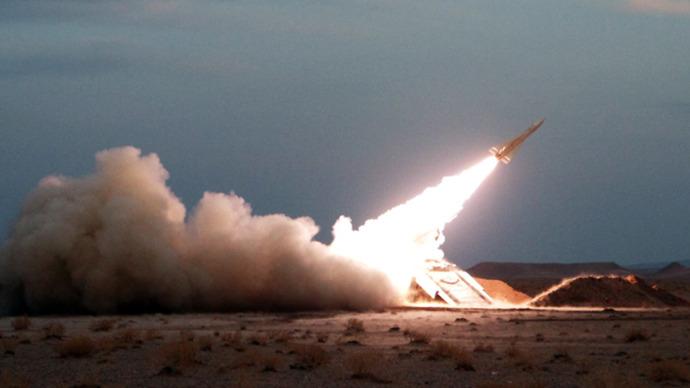Iran: A Hawk surface-to-air missile (AFP Photo / Amin Khoroshahi)