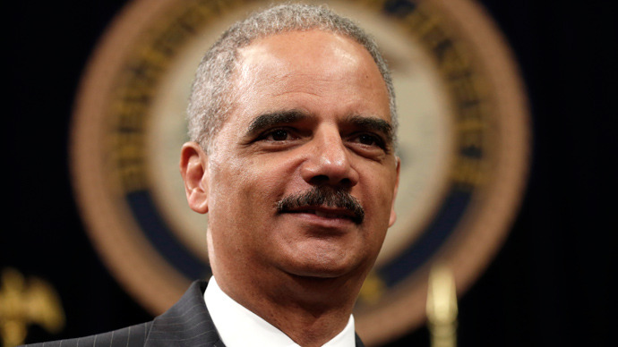US Attorney General Eric Holder (Retuers / Kevin Lamarque)