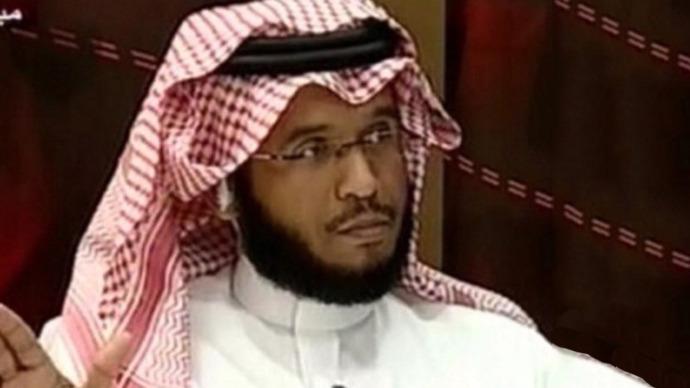 Saudi writer Abdullah Mohammad Al Dawood. (Image from twitter)