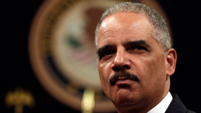 U.S. Attorney General Eric Holder (Reuters / Kevin Lamarque)