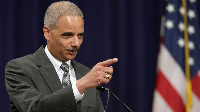 U.S. Attorney General Eric Holder.(AFP Photo / Chip Somodevilla)