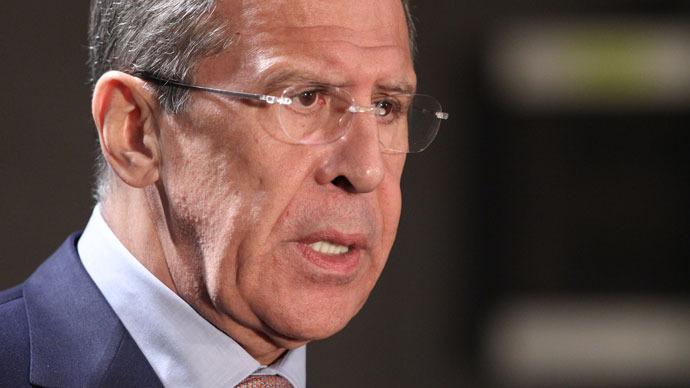 Russian Foreign Minister Sergey Lavrov.(RIA Novosti / Mihail Mokrushin)