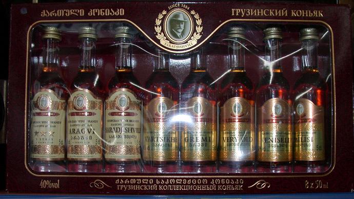 Georgian cognac. (RIA Novosti)