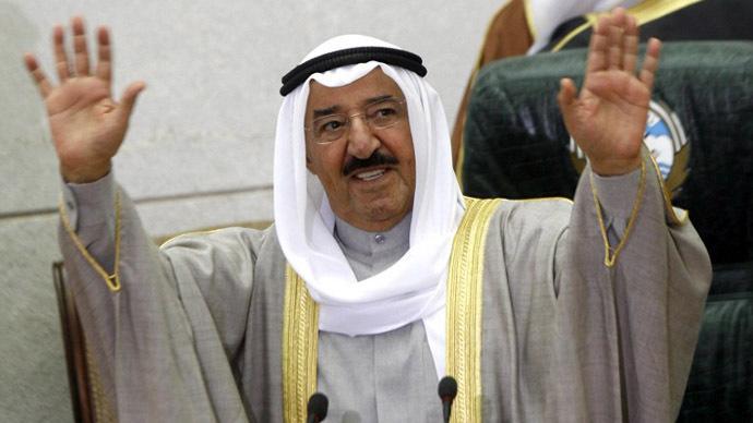 Kuwait's Emir Sheikh Sabah al-Ahmad Al-Sabah (AFP Photo / Yasser Al-Zayyat)