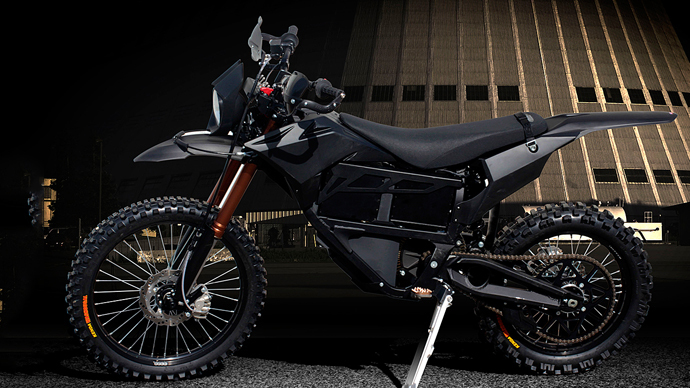 2013 Zero MMX military motorcycle (Photo courtesy of Zero)