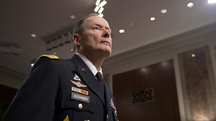 General Keith Alexander (AFP Photo / Saul Loeb)