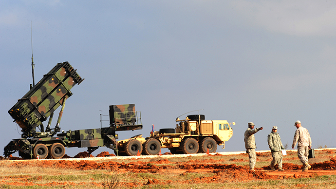A Patriot missile system (AFP Photo / Bulent Kilic)