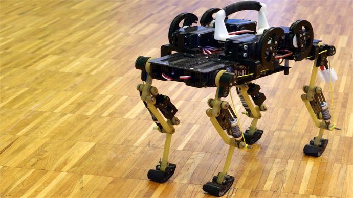 Cheetah-Cub robot (Image from biorob.epfl.ch)