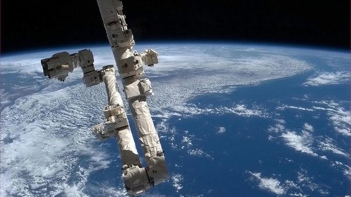 International Space Staion.(AFP Photo / NASA / Chris Hadfield)