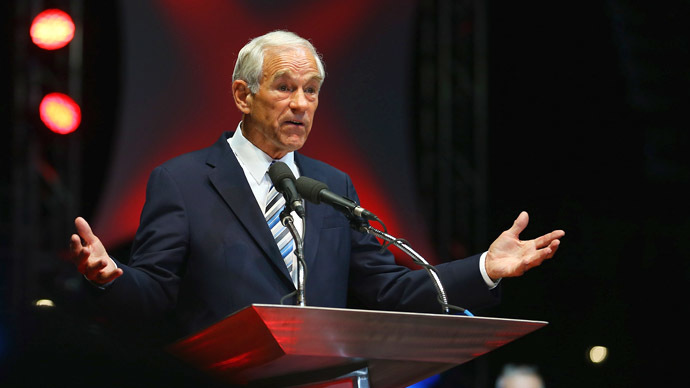 Former US Representative Ron Paul (R-TX) (AFP Photo / Joe Raedle)