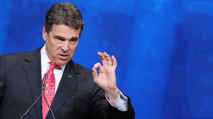Texas Governor Rick Perry (AFP Photo / Mandel Ngan)