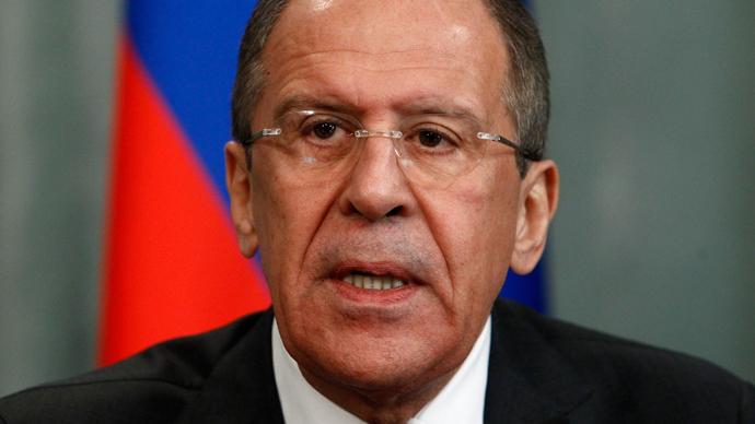 Sergey Lavrov (Reuters / Sergei Karpukhin)