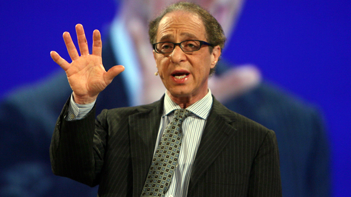Ray Kurzweil (AFP Photo / Gabriel Bouys)
