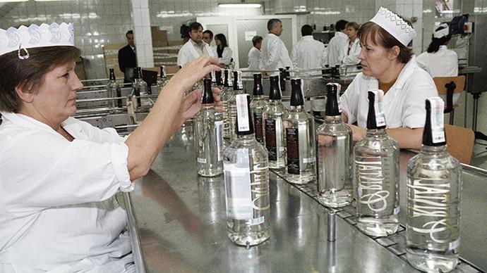Moscow's Kristall vodka factory (RIA Novosti / Vladimir Vyatkin)