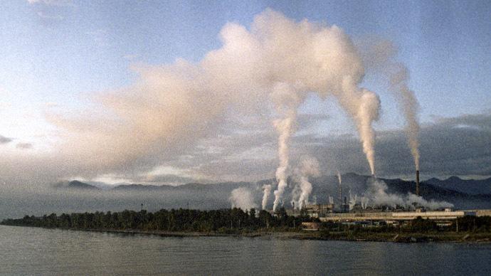 Baikal Pulp Mill (RIA Novosti)
