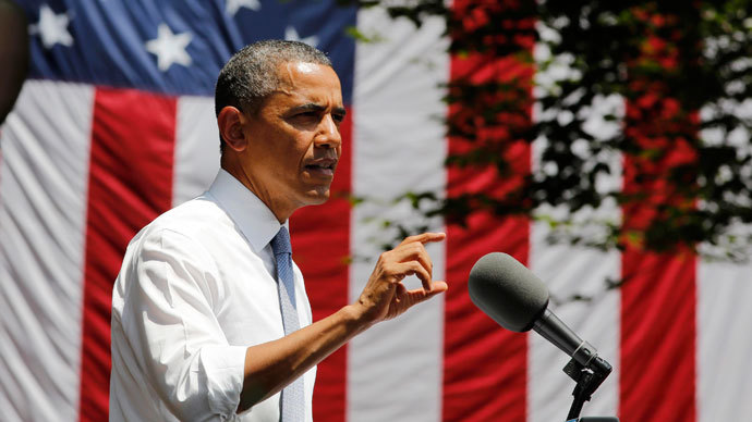 U.S. President Barack Obama.(REUTERS / Larry Downing)