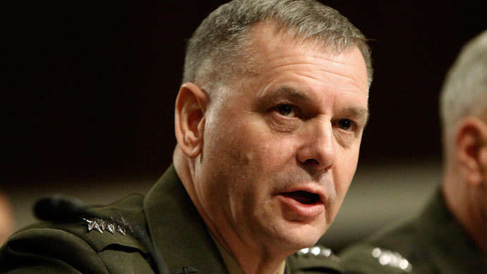 General James E. Cartwright.(Reuters / Hyungwon Kang)