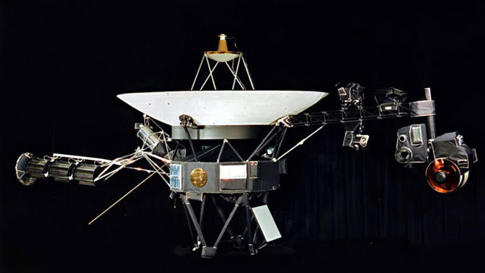 Voyager 1.(Image from nasa.gov)
