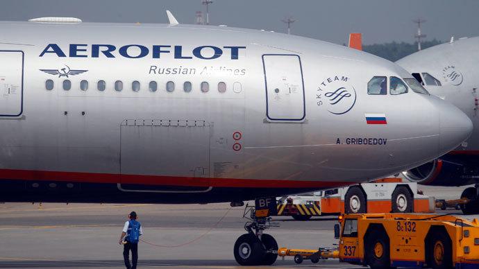 An Aeroflot Airbus A330 plane.(Reuters / Alexander Demianchuk)