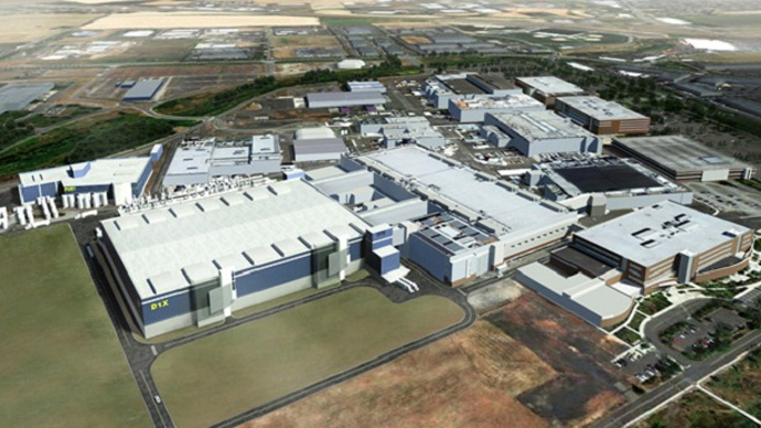 Intel plant, Arizona (Image from thedroidguy.com)
