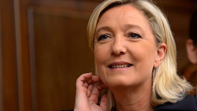 France's National Front leader Marine Le Pen (AFP Photo / Kirill Kudryavtsev)