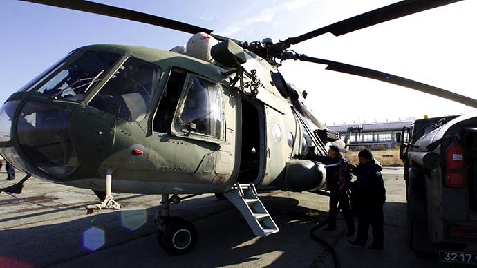 MI-8 helicopter (RIA Novosti / Anton Denisov)