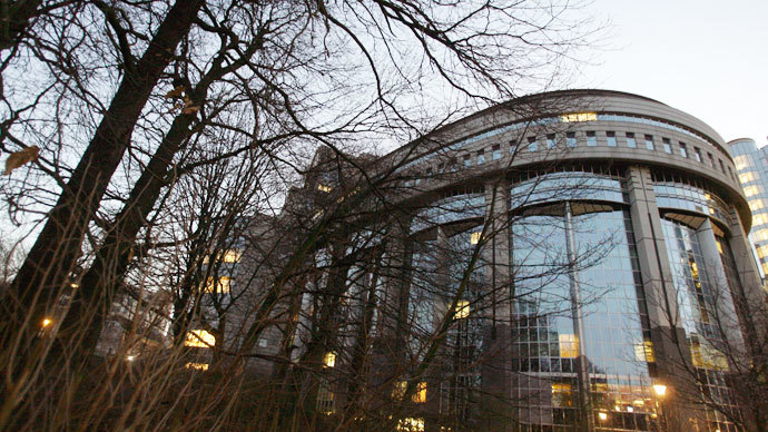 The building of the European Parliament is seen in Brussels.(AFP Photo / Dominique Faget)