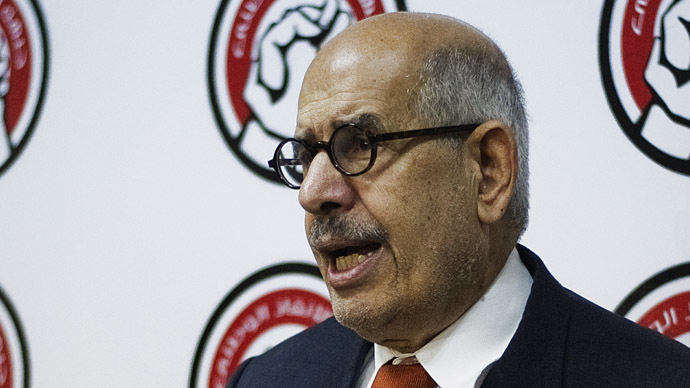 Mohamed ElBaradei (AFP Photo)