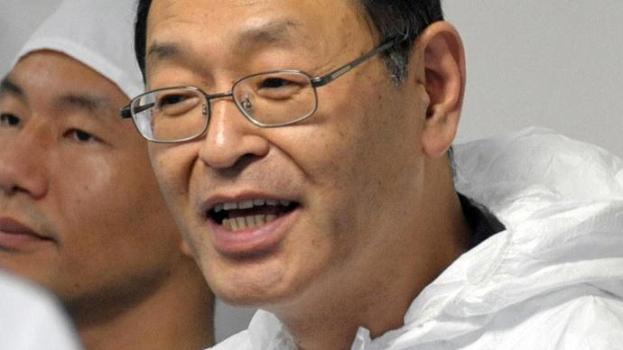 Masao Yoshida (AFP Photo / Japan Pool via JIJI Press)