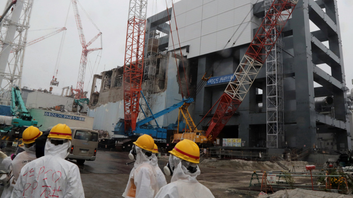 TEPCO's Fukushima Dai-ichi nuclear plant (AFP Photo / Noboru Hashimoto)