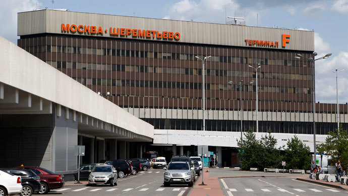 A general view of Terminal F at Sheremetyevo airport in Moscow July 12, 2013.(Reuters / Sergei Karpukhin)