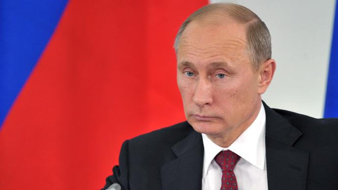 President Vladimir Putin (RIA Novosti /  Aleksey Nikolsky)