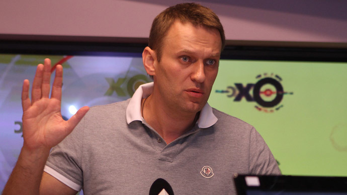 Candidate for mayor of Moscow Alexei Navalny  (RIA Novosti/Konstantin Rodikov)