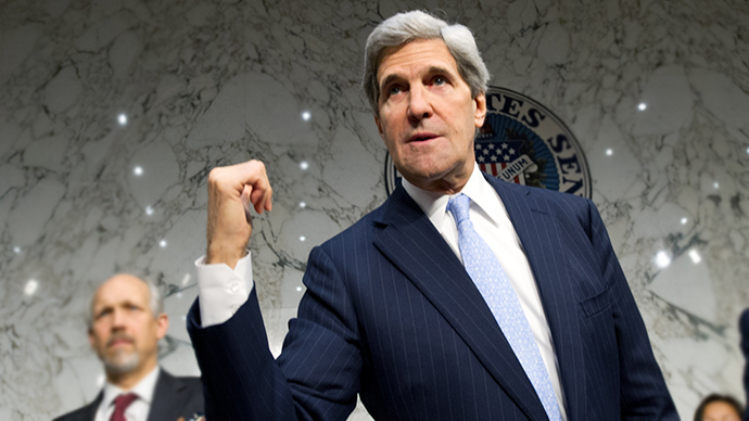 US Secretary of State John Kerry (AFP Photo / Karen Bleier)