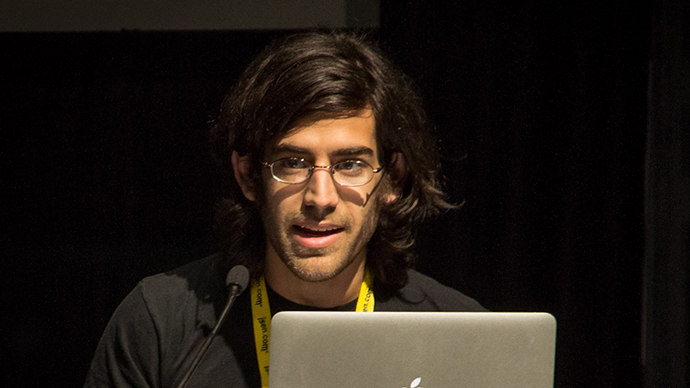 Aaron Swartz (Image from flickr.com / photo by user@peretzp)