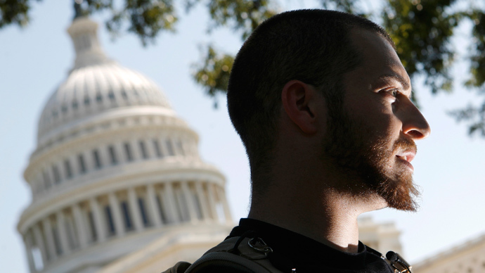Adam Kokesh (Reuters / Jim Young)