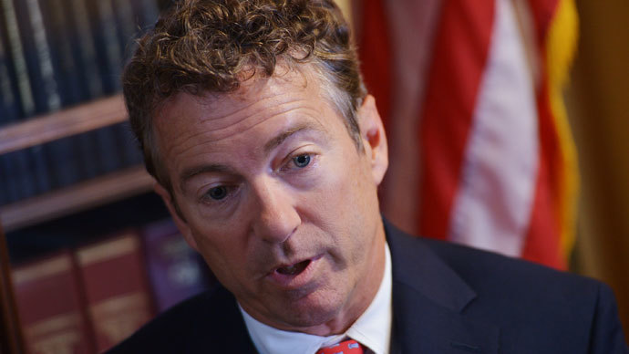 US Senator Rand Paul.(AFP Photo / Mandel Ngan)