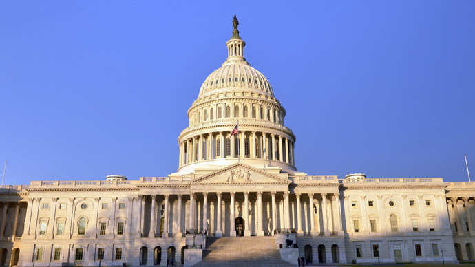 A general view shows the East Front of the US Capitol (AFP Photo/Mandel Ngan)