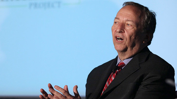 Former Treasury Secretary Lawrence Summers (Mark Wilson/Getty Images/AFP)